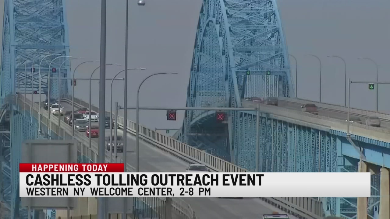 Cashless tolling outreach event