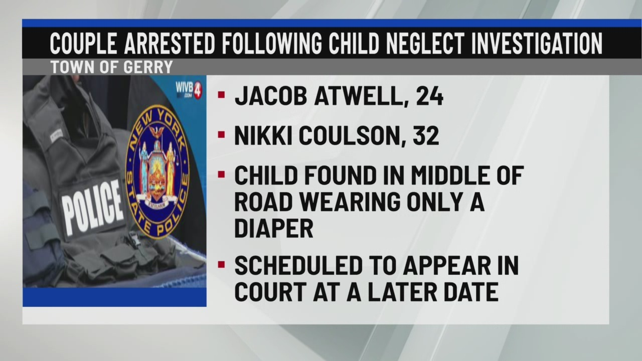 Couple arrested following child neglect investigation