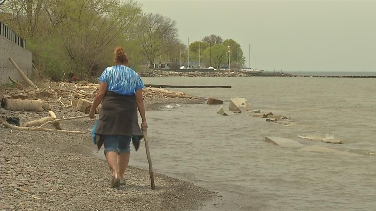 Lake Ontario waters rising