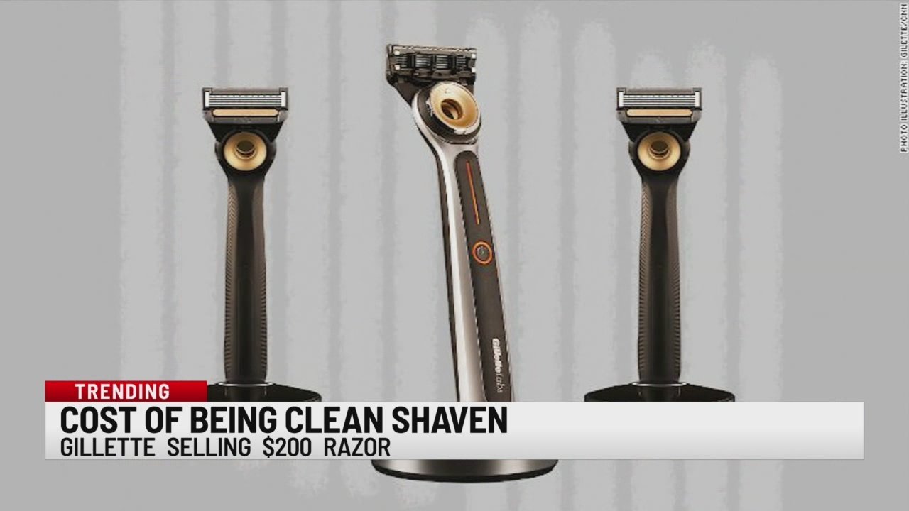Cost of being clean shaven