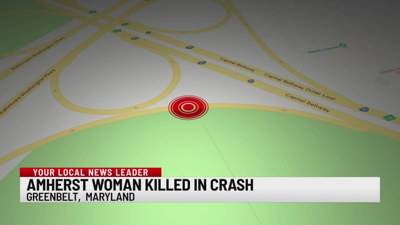 Amherst woman killed in crash