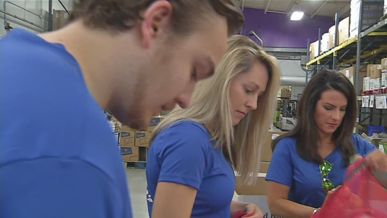 News 4 gives back for Founder's Day of Caring