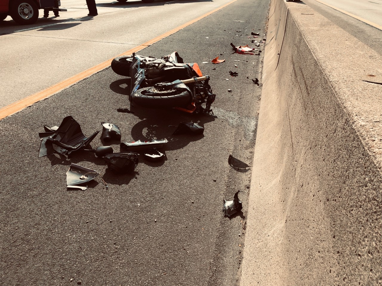 Motorcyclist injured in 190 crash Thursday afternoon | News 4 Buffalo