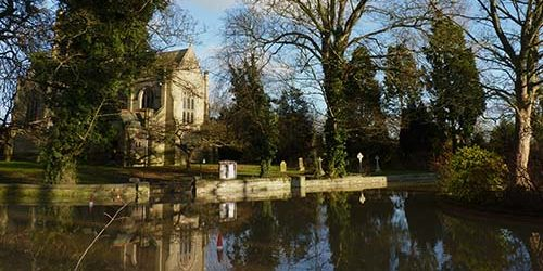 Saint John the Divine, Colston Bassett - floods in 2012