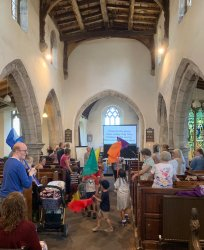Easter JOY! 2019 - Flags in the service