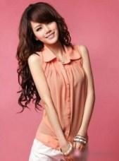 peach-colour-blouse