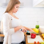 Healthy meal during pregnancy for a healthful baby