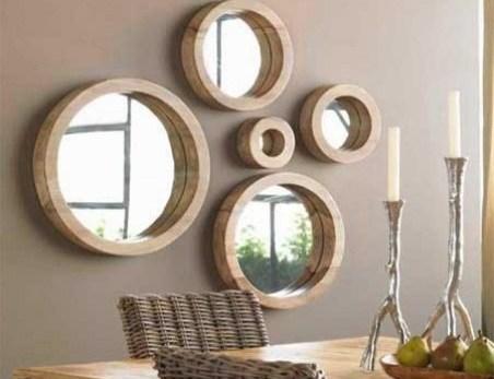 mirrors on walls