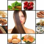 What foods help to prevent hair fall and keep it healthy?