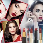 Red lipstick and Eye makeup: How to contrast perfectly?