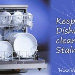 How to clean a dishwasher by cheap household products