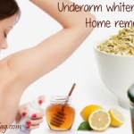 Underarm Whitening: How to clear dark underarms naturally?