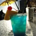 halal Blue Hawaii