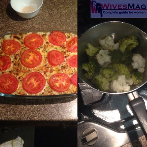 baked cheesy potatoes and leek 18