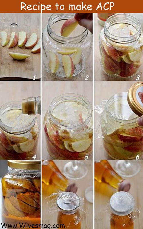 homemade apple cider vinegar recipe