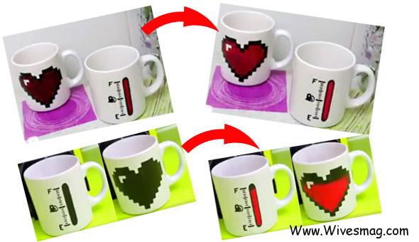 DIYs color changing coffee mugs8