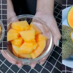 Melon, delicious, healthy seasonal fruit