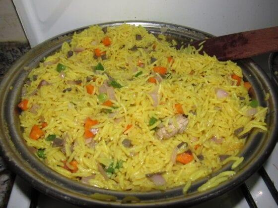 Nigerian Fried Rice - Nigerian food recipes Made Simple ...