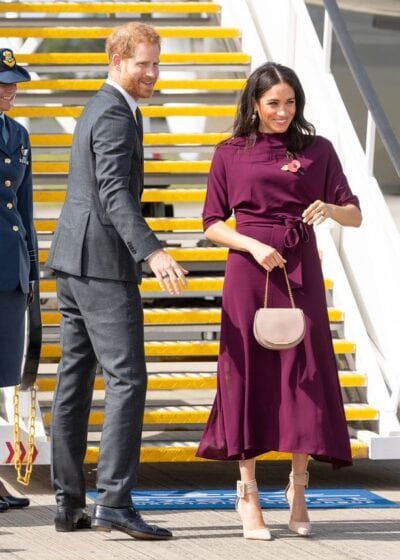 075b3002f1449 CLEVER FASHION TRICKS PREGNANT MEGHAN MARKLE USES ON HER OUTFITS ...
