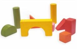 Arquitectónico # 1 con 18 Modelos de Construcción de Madera