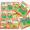 Lotería Didáctica Dinosaurios - Wiwi Loterías de Mayoreo