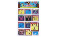 Lotería Didáctica Jumbo Multiplicaciones - Wiwi Loterías de Mayoreo