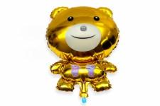 Globos de metal Oso Teddy - Wiwi globos fiestas