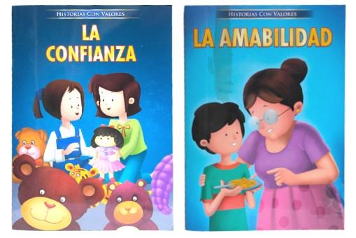 Mis Peque Historias con Valores 4 tomos - Libros infantiles