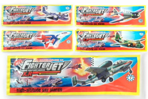 Aviones de Unicel 30 piezas - Wiwi tienda de mayoreo