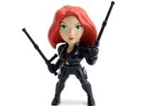 """La viuda negra figura de acción hecha de metal 4 """""""