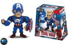 Captain America 6 pulgadas-Jada Die Cast Metals Marvel Disney