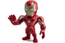 "Iron Man 6"" light led- Jada Die Cast Metals Marvel Disney"