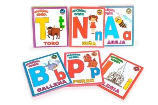 Tarjetas Didácticas de Abecedario bilingüe - Wiwi Didácticos de mayoreo