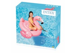Flamingo Mega Montable acuático inflable - Wiwi Mayoreo