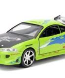 1995 Mitsubishi Eclipse Rápido y Furioso 1:32 - Jada metal