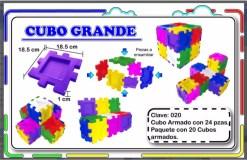 4 Cubos Didácticos de ensamble - Wiwi bloques de mayoreo
