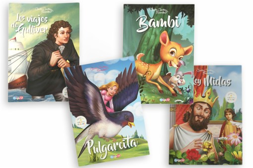 Comprar Libros Cuenta Cuentos Favoritos 4 tomos - Wiwi Libros infantiles