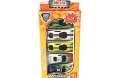 Metal Sports Cars 5 piezas - Wiwi juguetes de mayoreo
