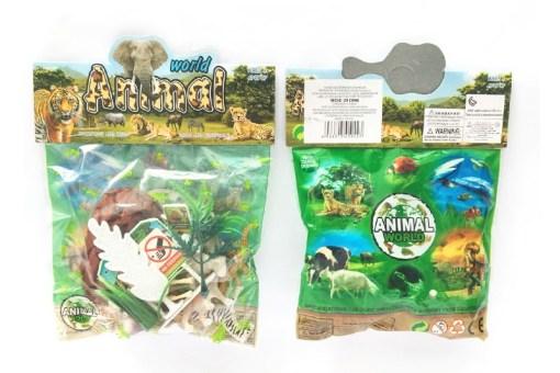 Maqueta del Reino Animal paquete con 16 piezas – Wiwi mayoreo