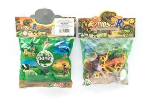 Maqueta de Dinosaurios paquete con 11 piezas – Wiwi mayoreo