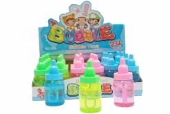 Burbujero de Biberón caja con 24 piezas - Juguetes de mayoreo