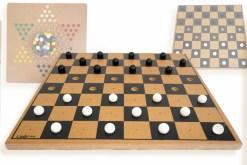 Damas y Damas de madera 30 cm - juegos mayoreo