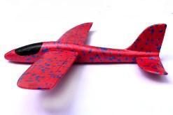 Aviones de Unicel Armable Rojo - tienda de mayoreo