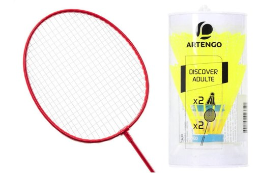 Set de Badminton para 2 jugadores - Juguetes de Mayoreo
