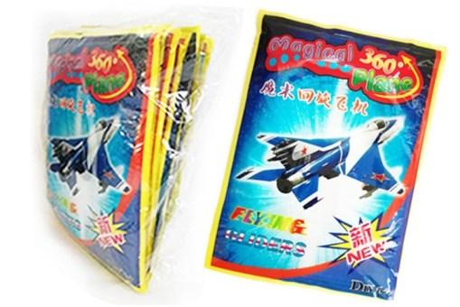 Aviones de Unicel Magical 360° paquete con 10 piezas