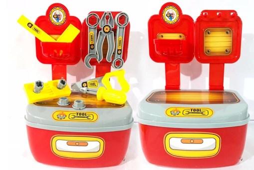 Caja con Set de Herramientas - Juegos y Juguetes de Mayoreo