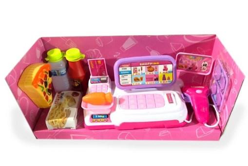 Cashier Caja registradora con accesorios – juegos didácticos