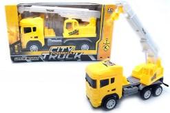 Camión de grua para construccion - City Truck- juguetes didácticos