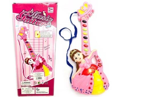 Guitarra musical de Princesa - juegos y juguetes didácticos