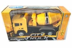Camión de revolvedora para construccion - City Truck- juguetes didácticos